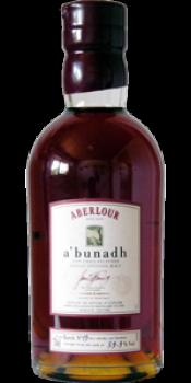 Aberlour A'bunadh batch #19