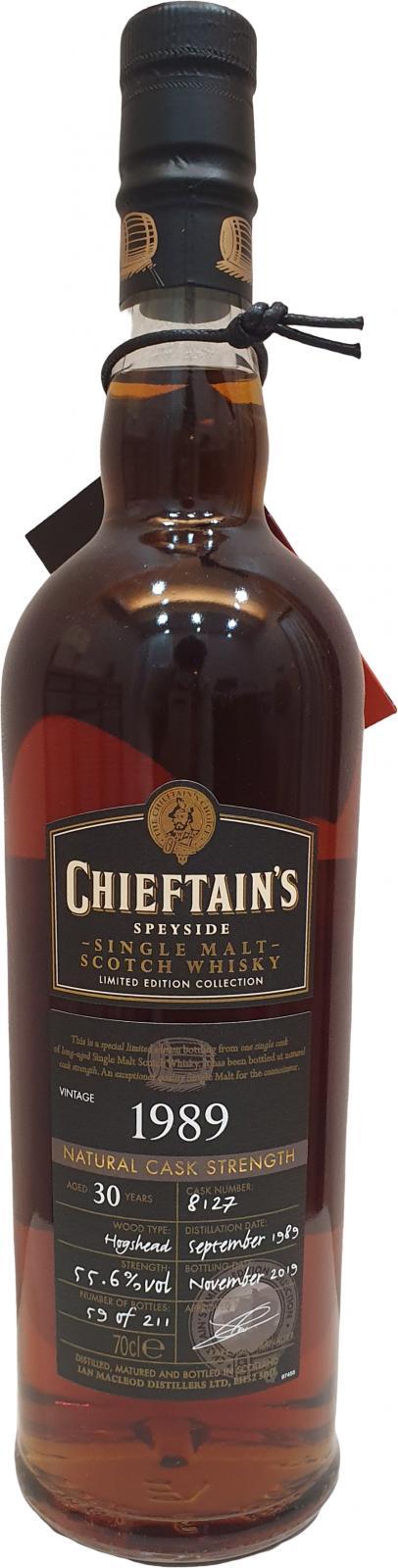 Chieftain's 1989 IM