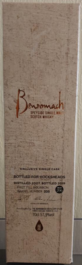 Benromach 2007