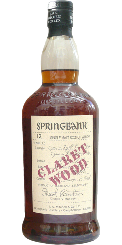 Springbank 1997 Claret