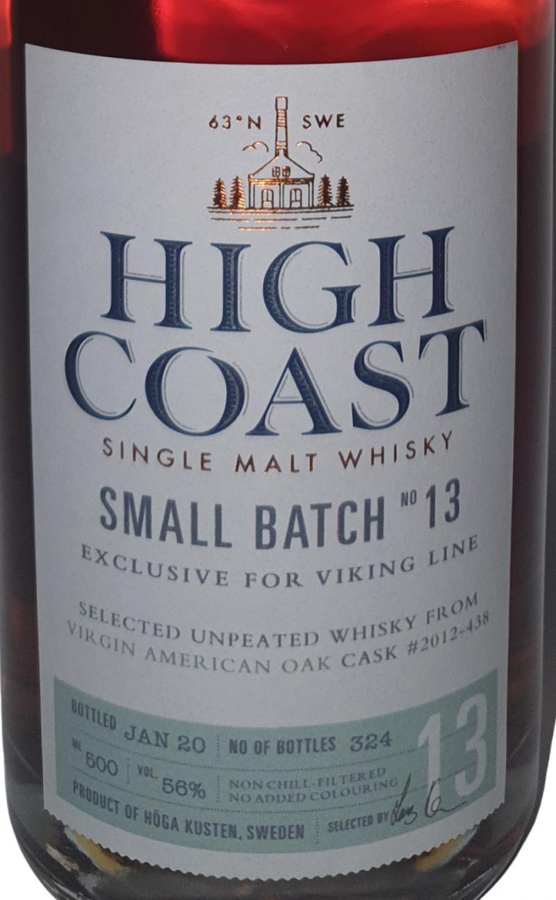 High Coast Small batch 13