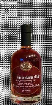 buair an diabhail of Islay Port Quartercask bottling Vol. V