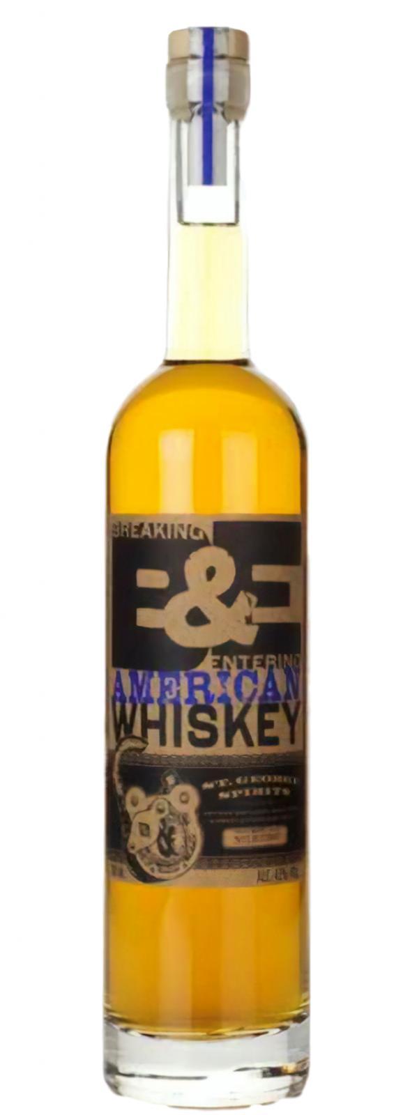 St. George Spirits Breaking & Entering American Whiskey