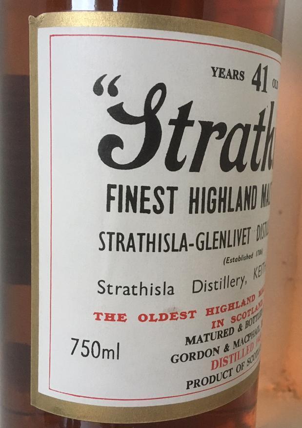 Strathisla 1949 GM