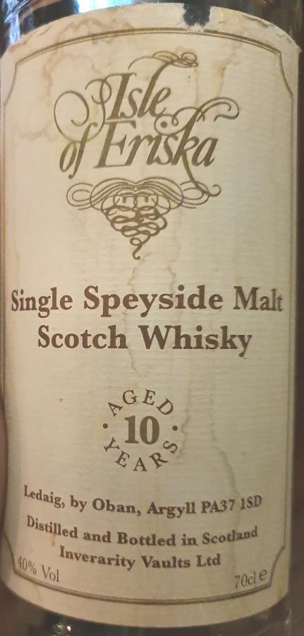 Single Speyside Malt Scotch Whisky 10-year-old
