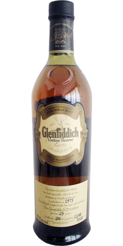 Glenfiddich 1973 Vintage Reserve
