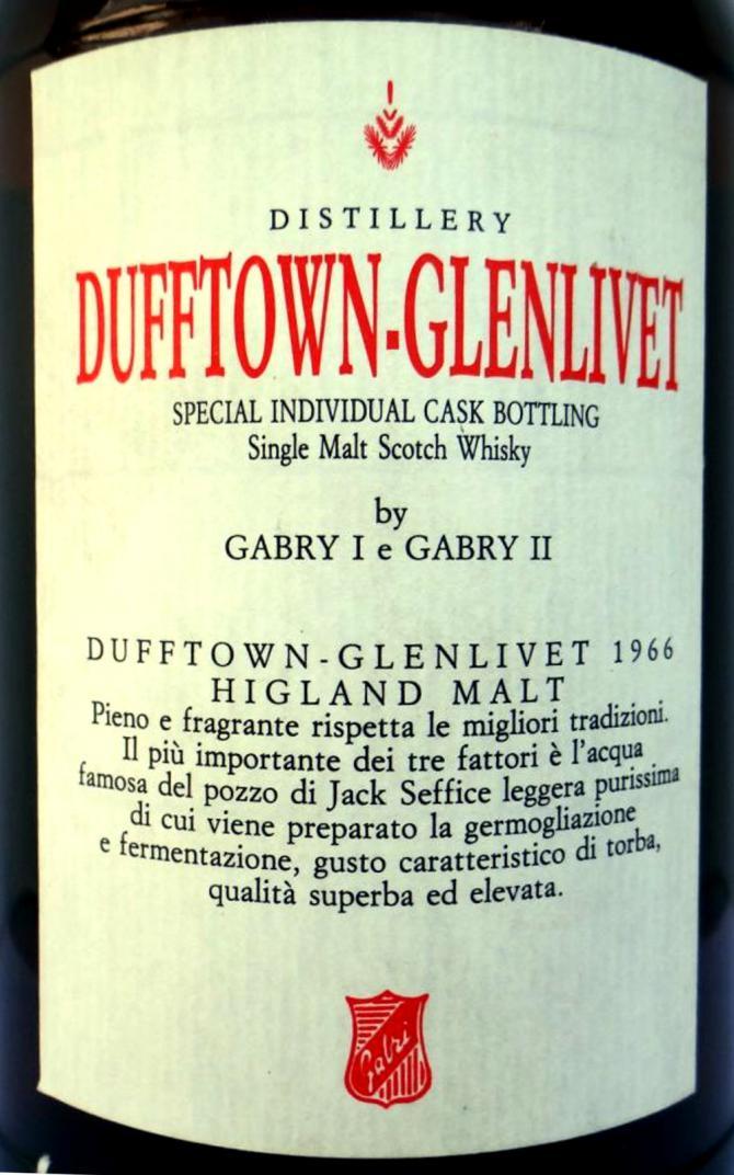 Dufftown 1966 CA