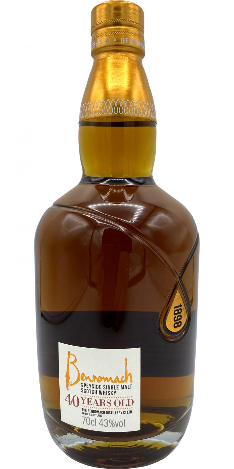 Benromach 40-year-old