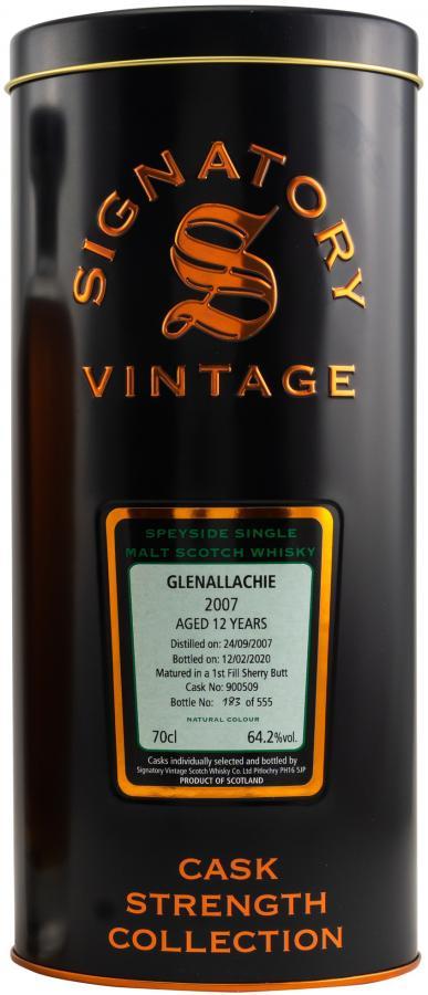 Glenallachie 2007 SV