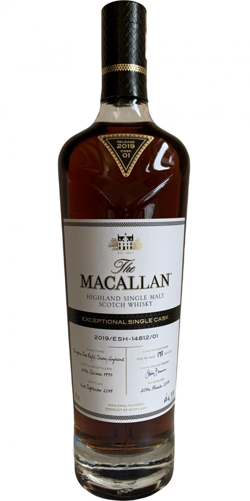 Macallan 2019/ESH–14812/01