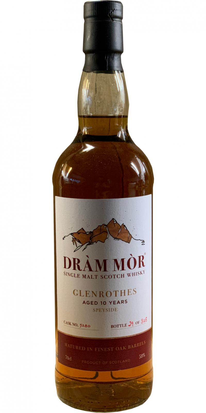 Glenrothes 10-year-old DMor