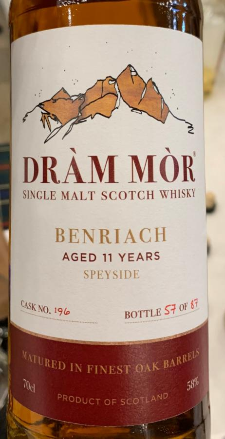 BenRiach 11-year-old DMor