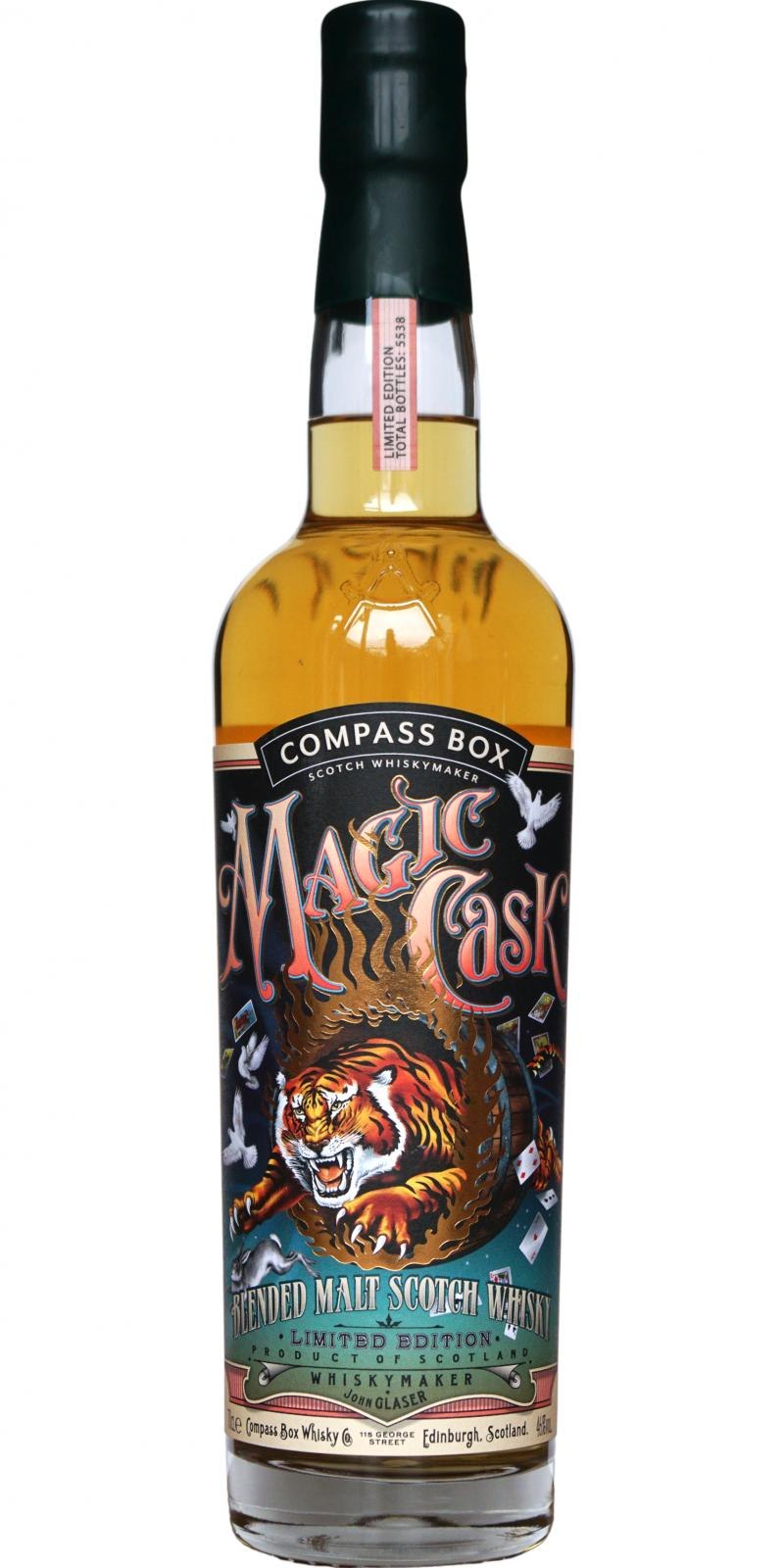 Magic Cask Blended Malt Scotch Whisky CB