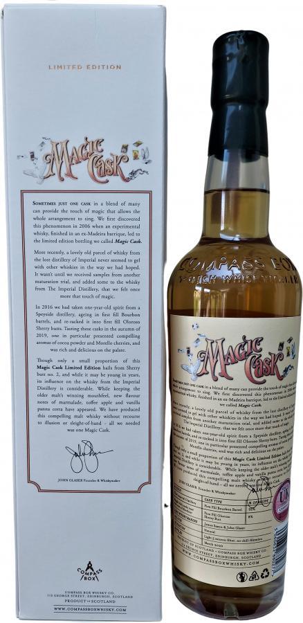 Magic Cask Blended Malt Scotch Whisky CB