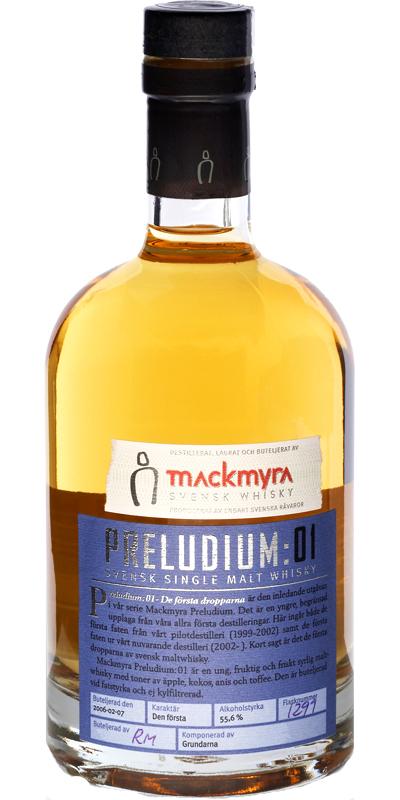 Mackmyra Preludium: 01