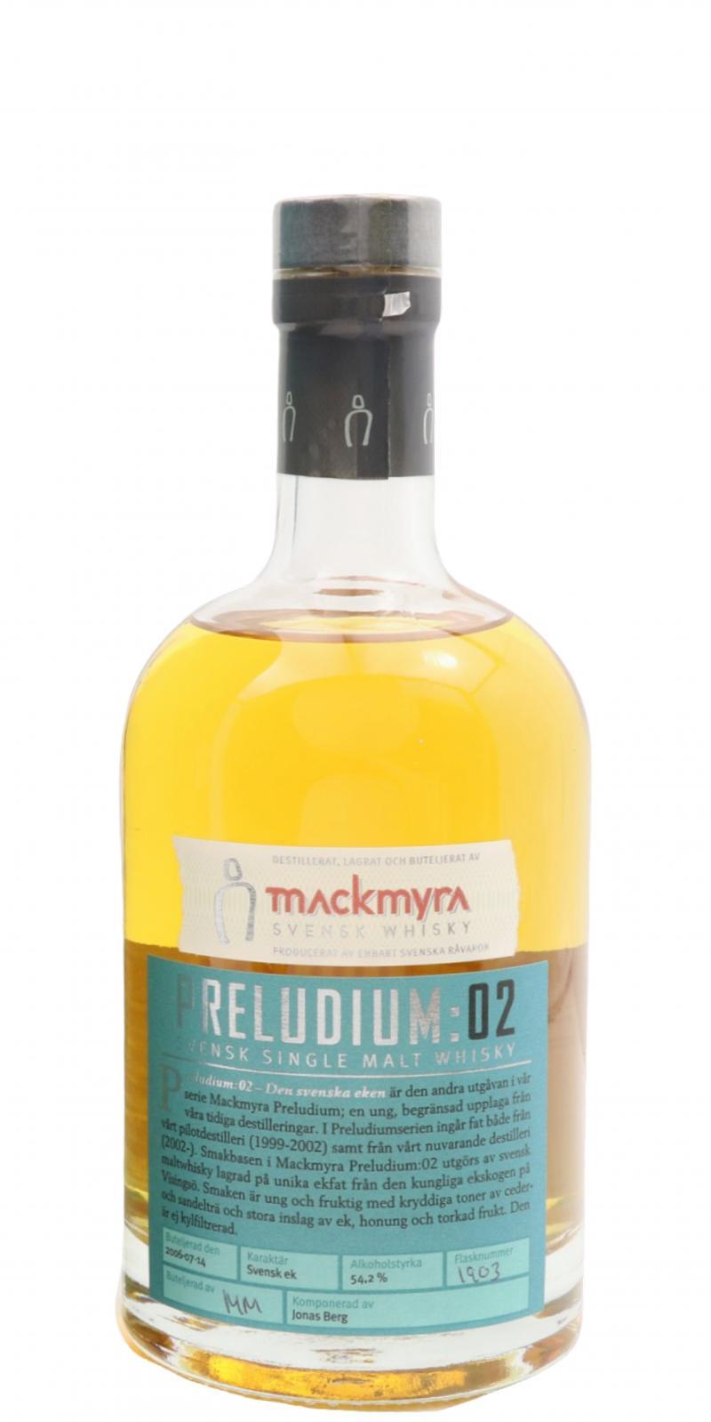 Mackmyra Preludium: 02