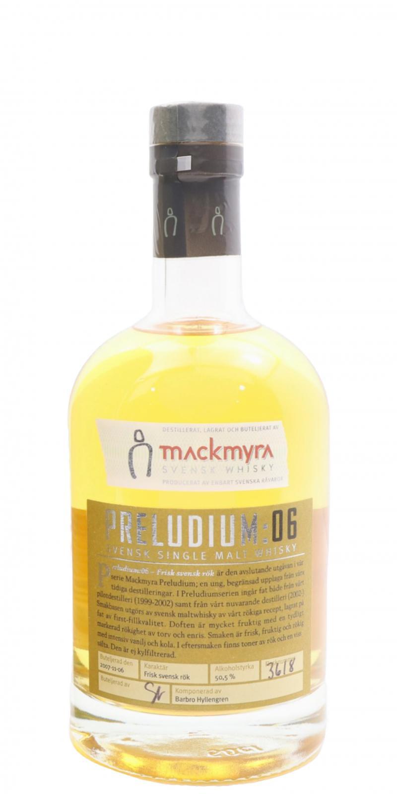 Mackmyra Preludium: 06