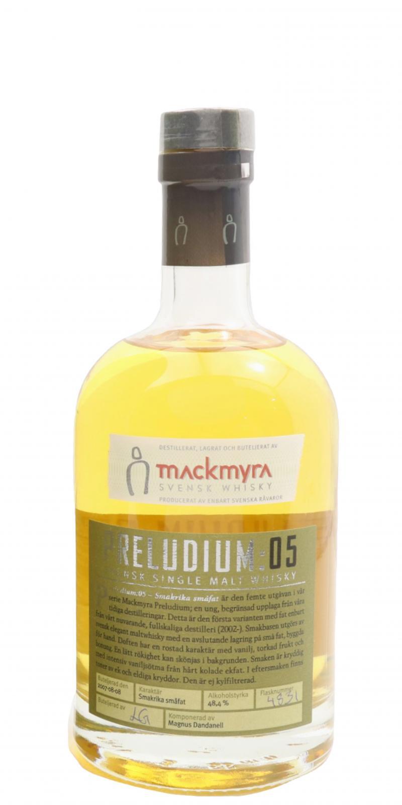 Mackmyra Preludium: 05