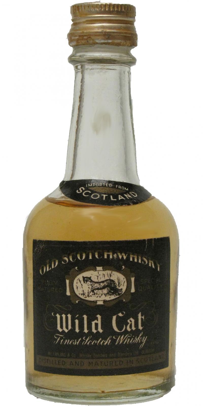 Wild Cat Finest Scotch Whisky