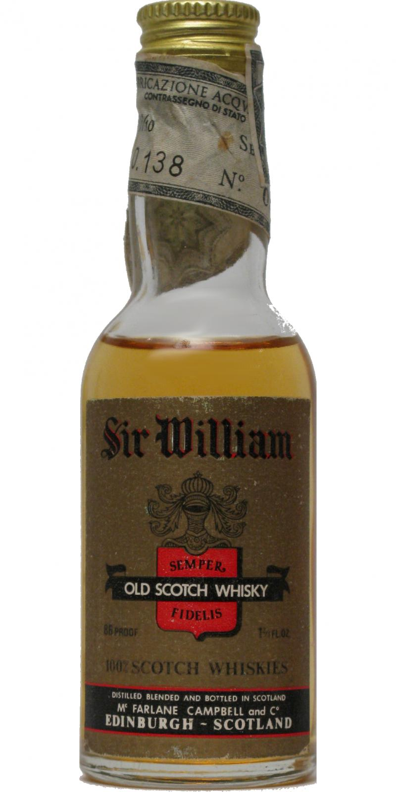 Sir William Old Scotch Whisky