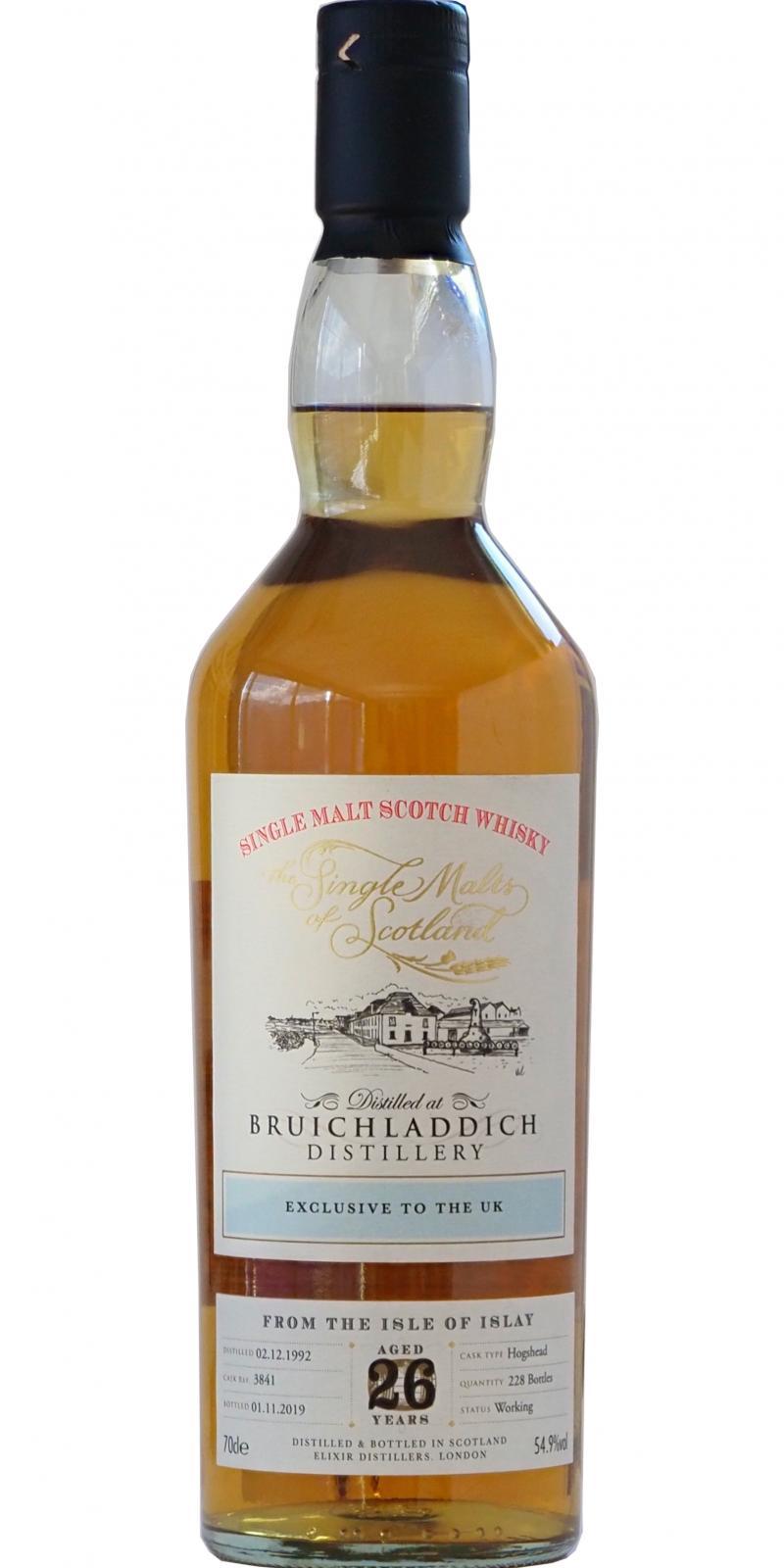 Bruichladdich 1992 ElD