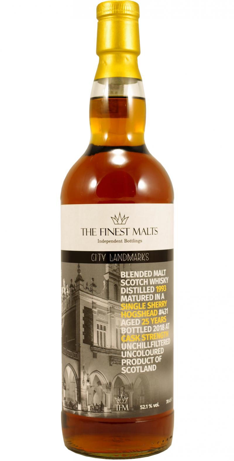 Blended Malt Scotch Whisky 1993 TFM