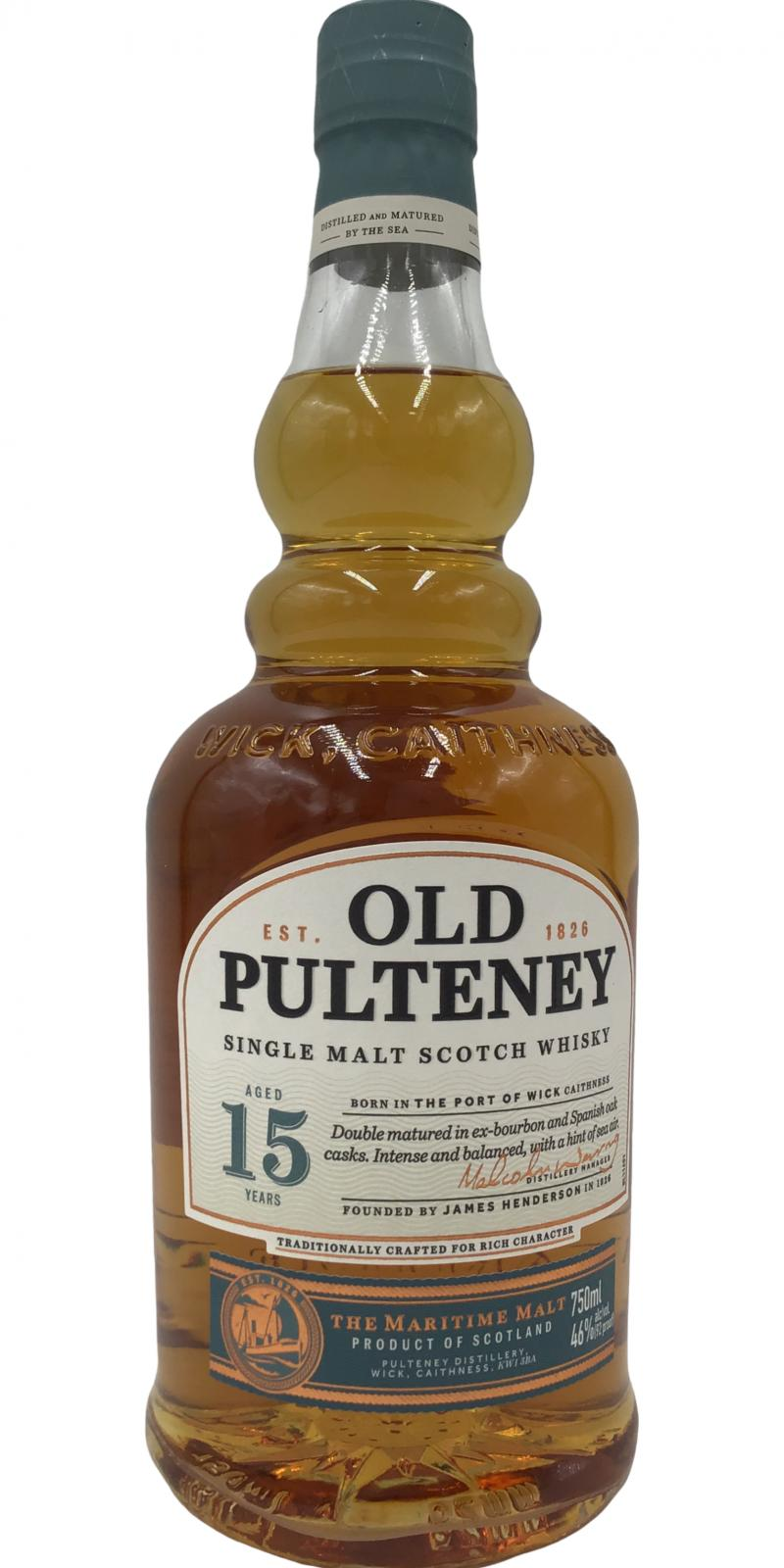 Old Pulteney 15-year old