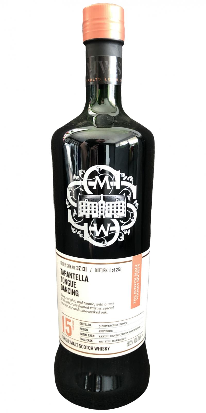 Cragganmore 2003 SMWS 37.131