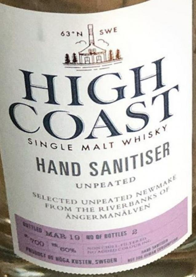 High Coast Hand Sanitiser