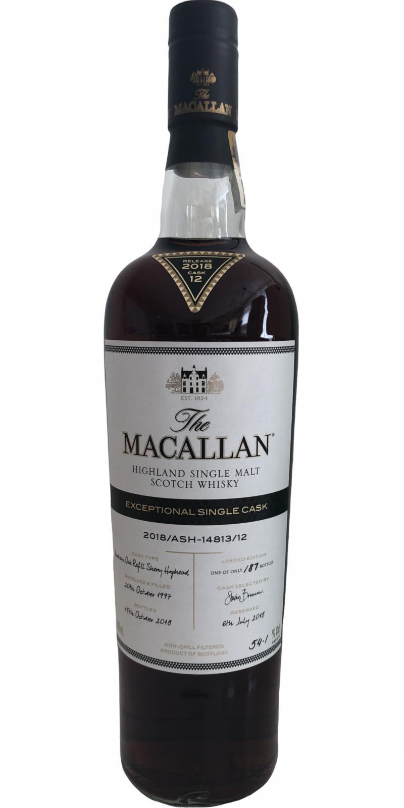 Macallan 2018/ASH–14813/12