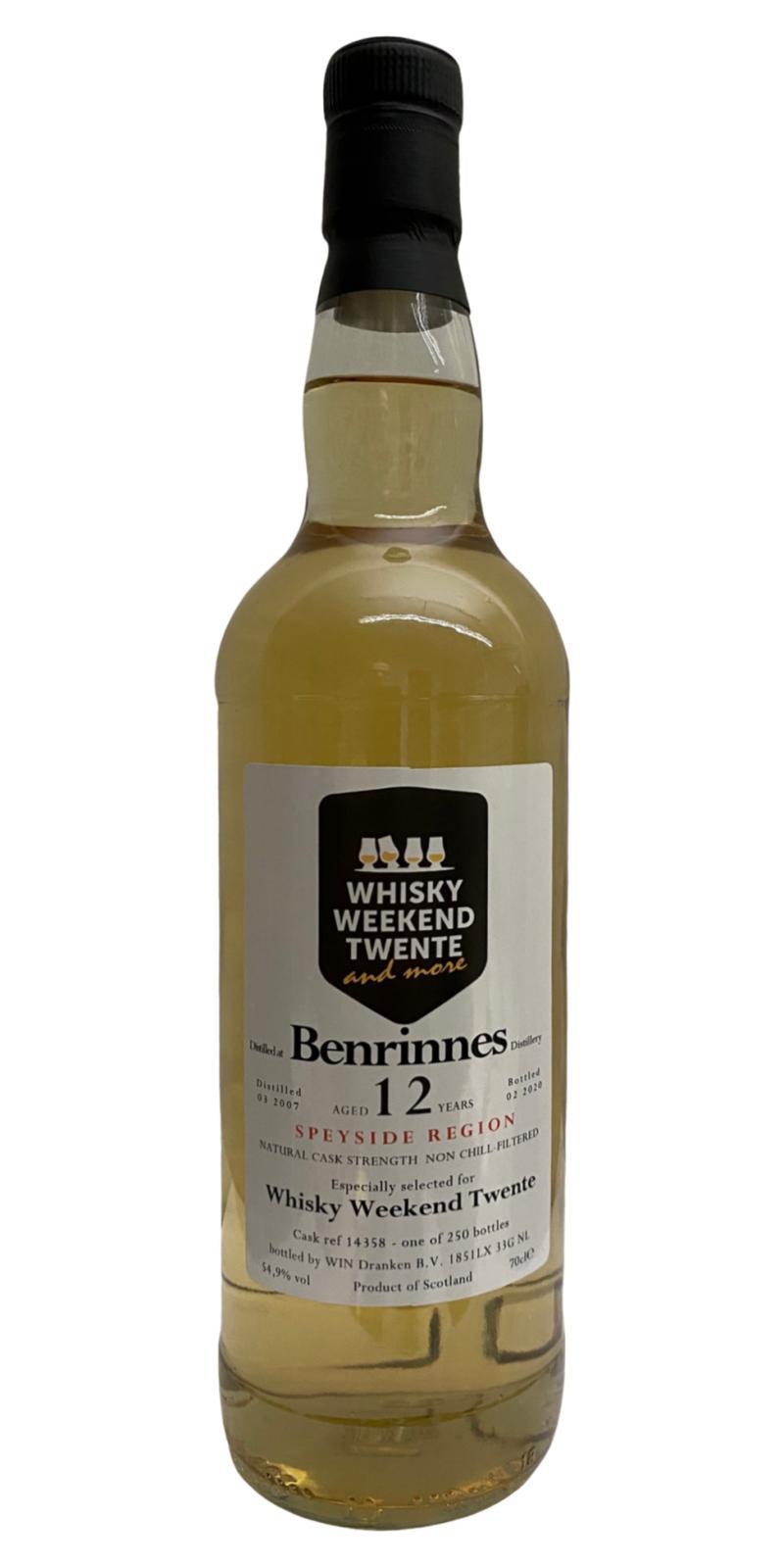 Benrinnes 2007 WIN