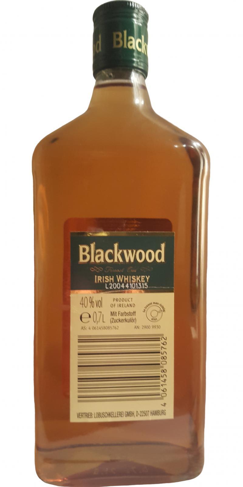 Blackwood Finest Old Irish Whiskey