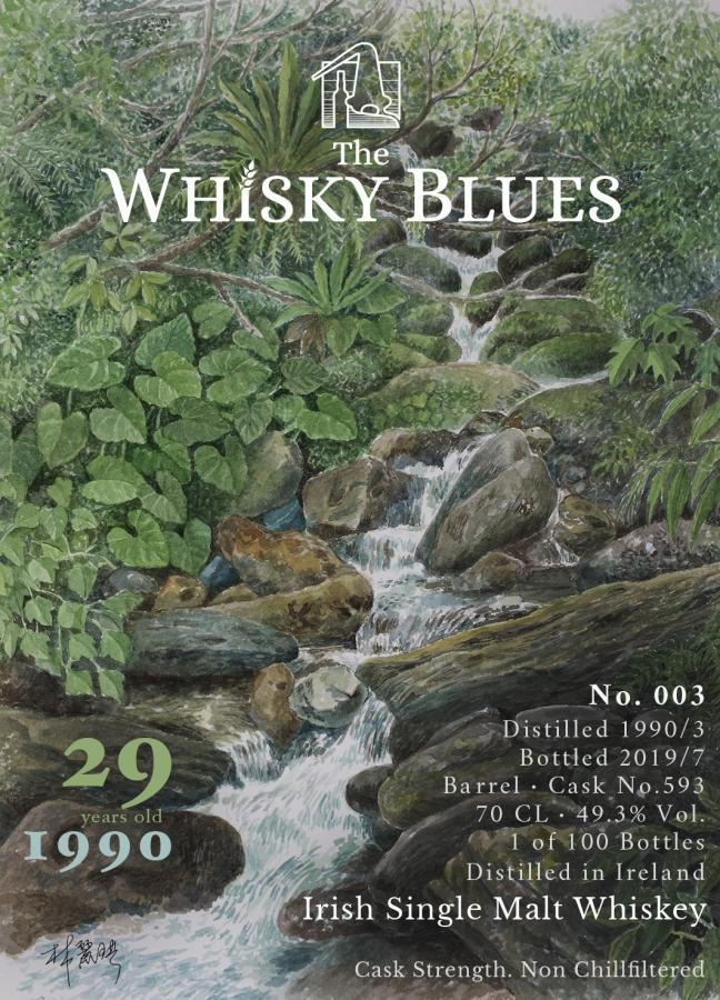 Irish Single Malt Whiskey 1990 TWBl