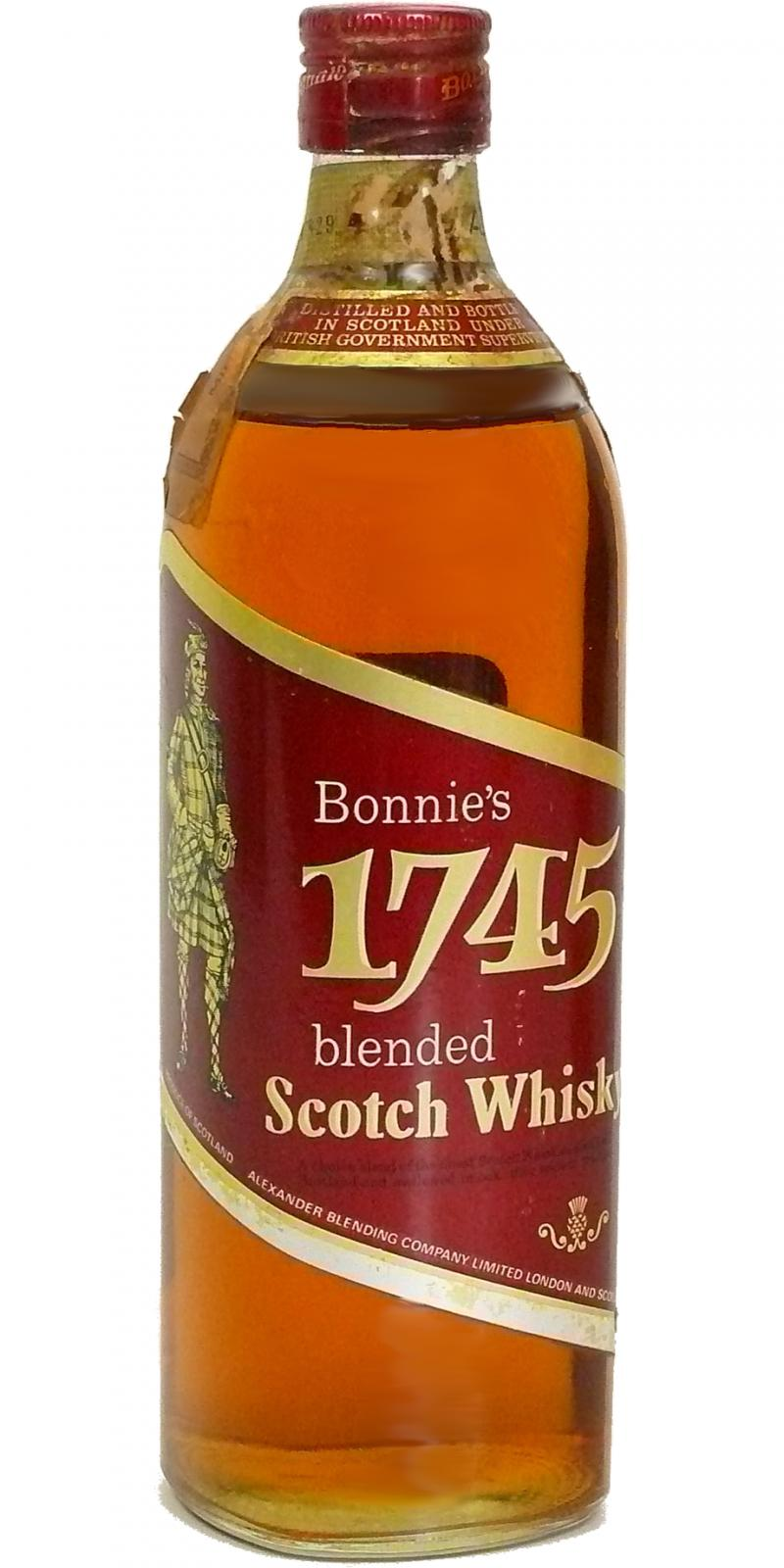 Bonnie's 1745 Blended Scotch Whisky