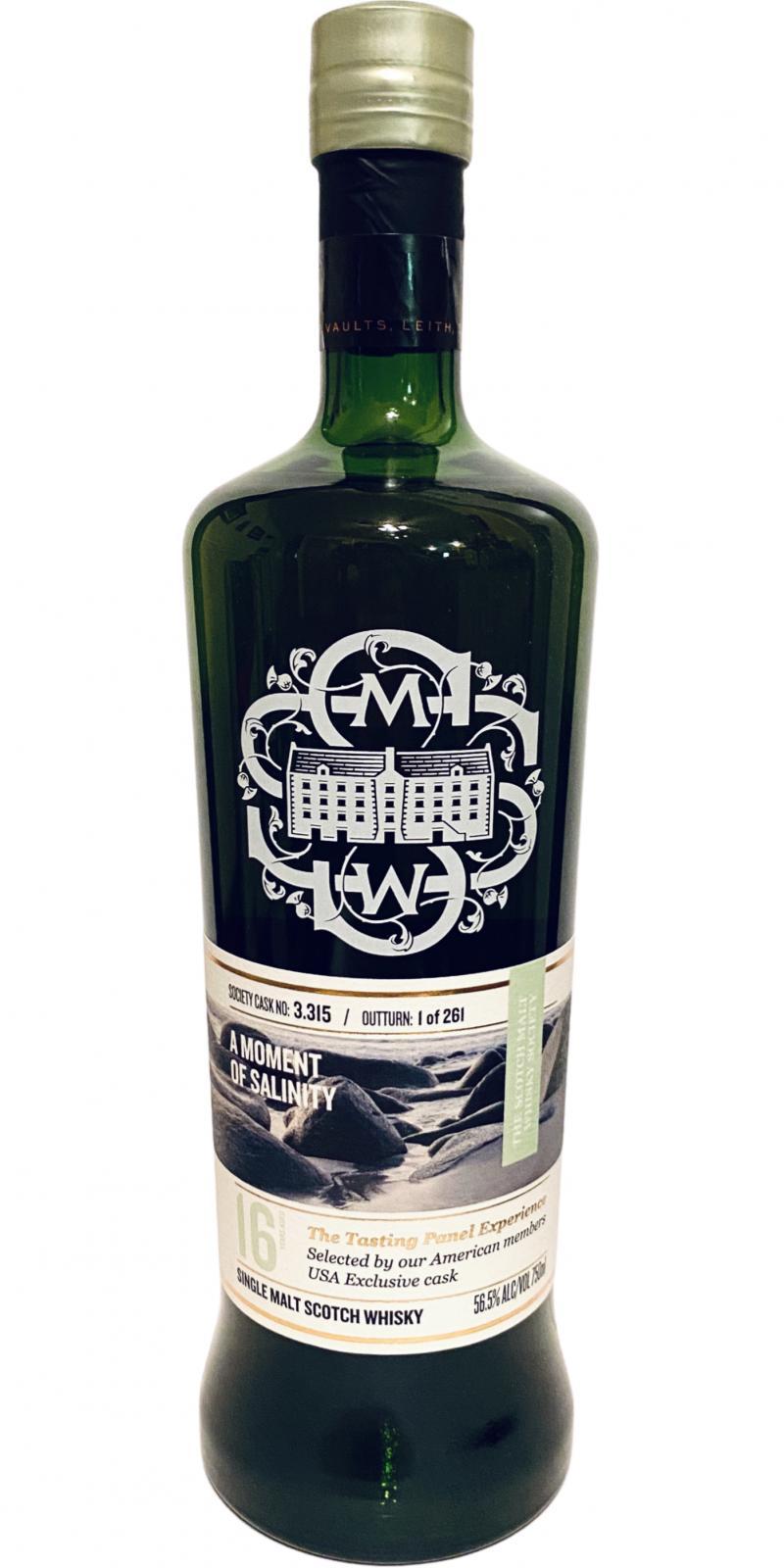 Bowmore 2004 SMWS 3.315