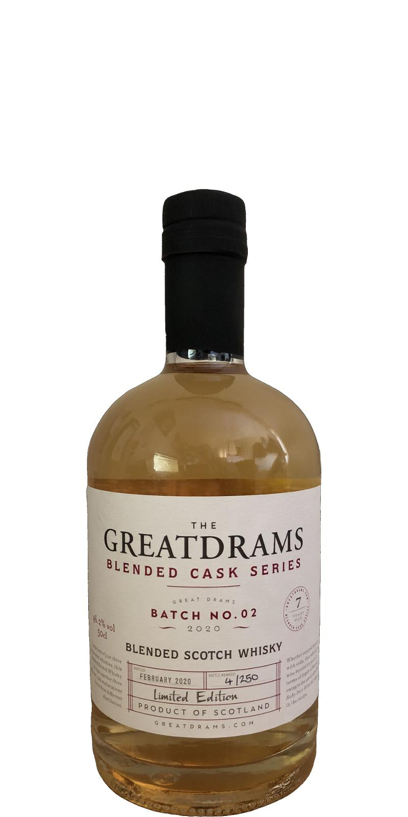 Blended Scotch Whisky 07-year-old GtDr