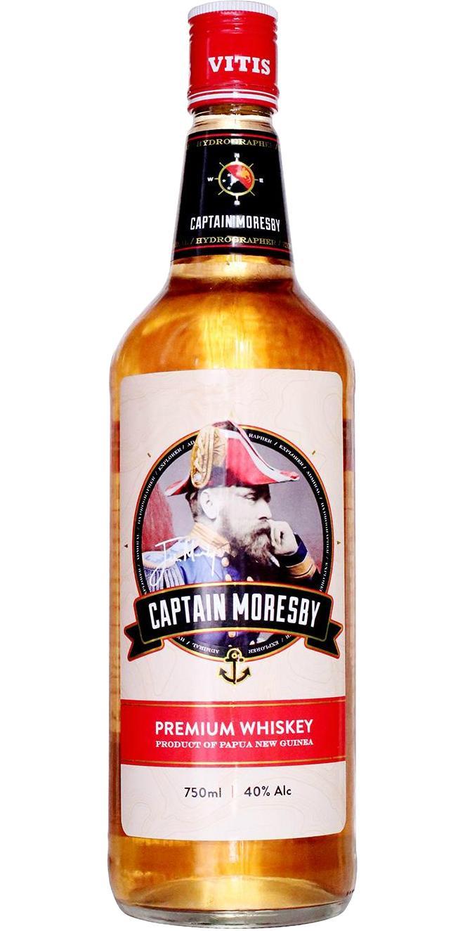 Captain Moresby Premium Whisky