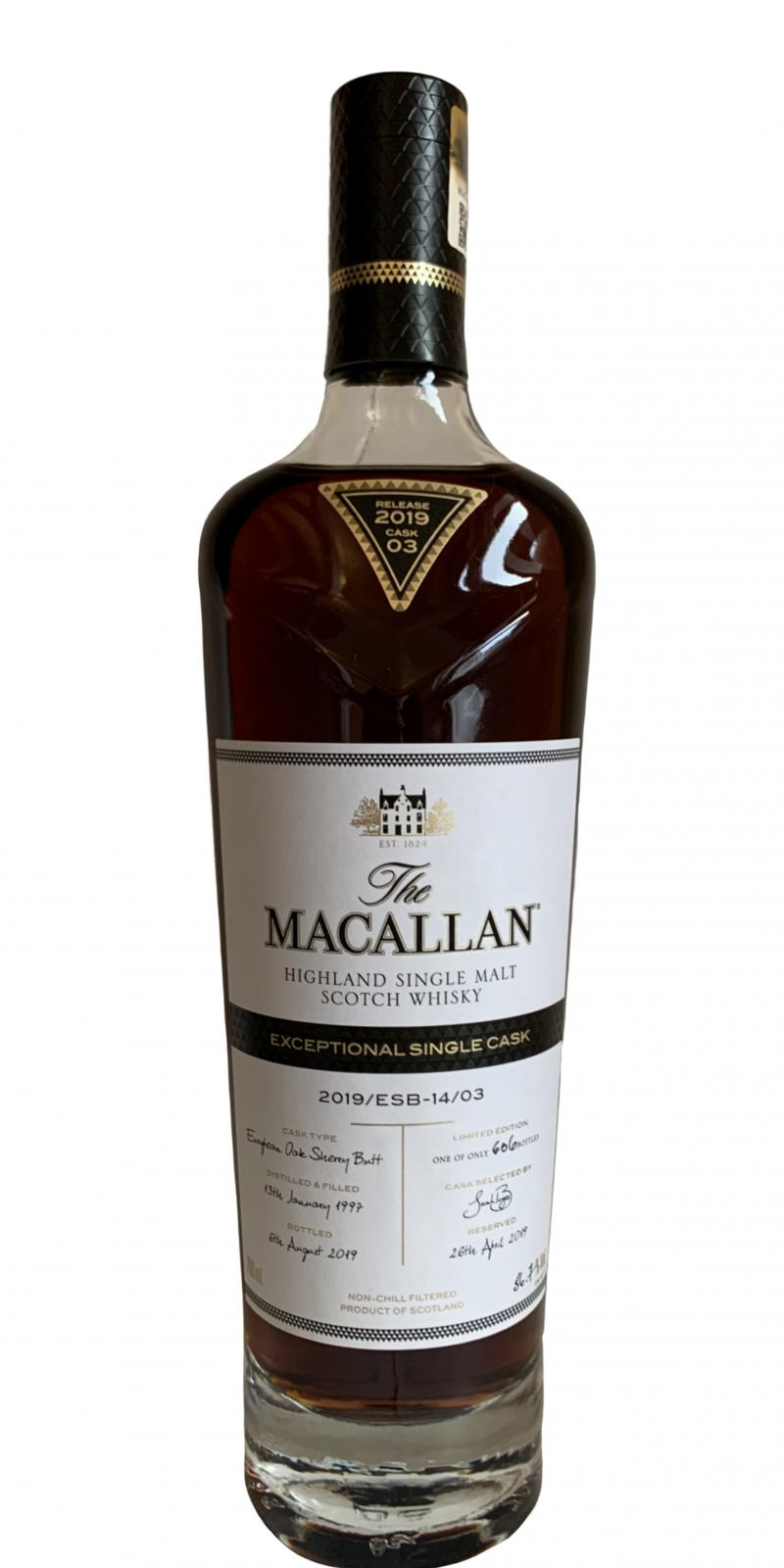 Macallan 2019/ESB-14/03
