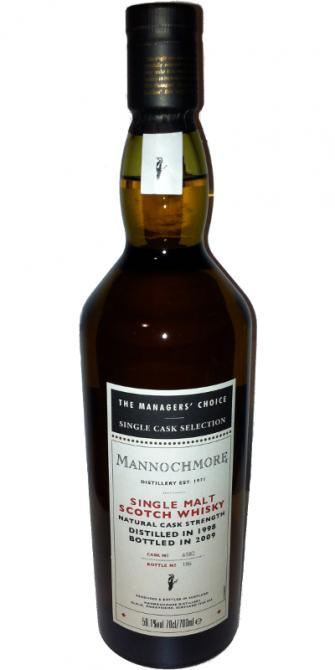 Mannochmore 1998