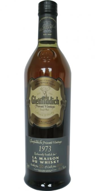 Glenfiddich 1973 Private Vintage