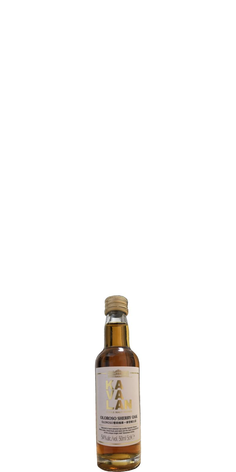 Kavalan Oloroso Sherry Oak