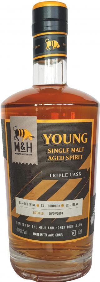 Milk & Honey Young Single Malt Aged Spirit