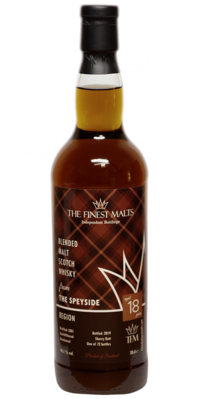 Blended Malt Scotch Whisky 2001 TFM