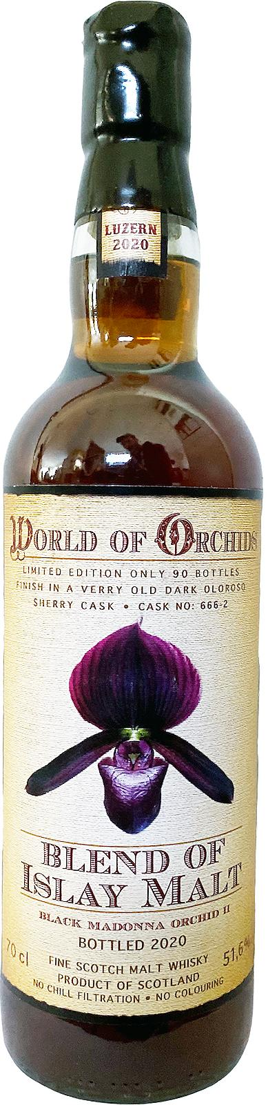 Blend of Islay Malt Black Madonna Orchid II JW
