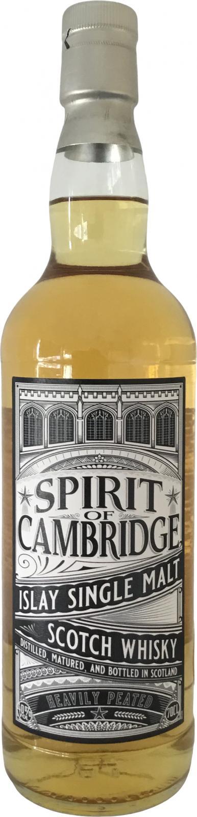 Islay Single Malt Scotch Whisky Spirit of Cambridge