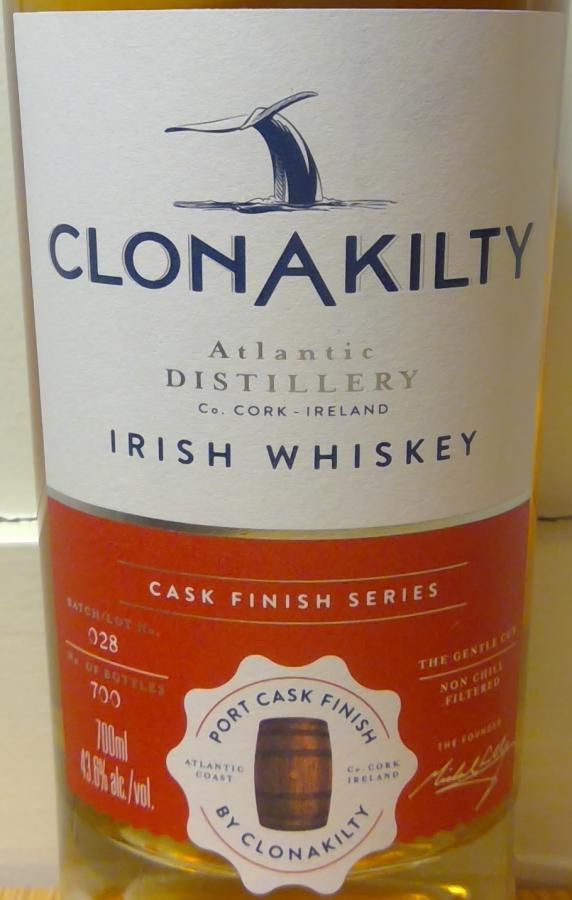Clonakilty Port Cask Finish