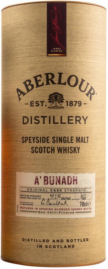 Aberlour A'bunadh batch #66