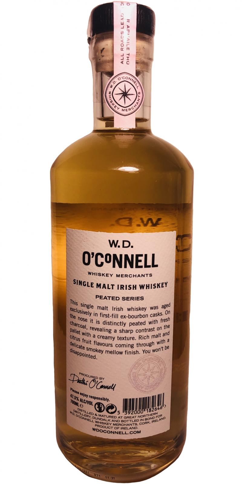 W.D. O'Connell Bill Phil - Peated Series