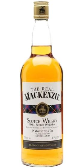 The Real Mackenzie Blended Scotch Whisky