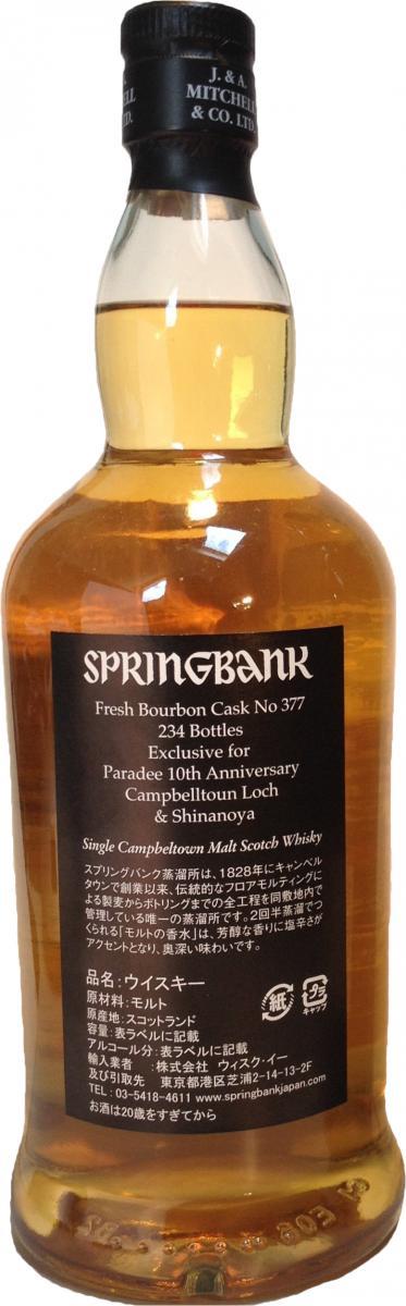 Springbank 1998